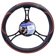 COMPASS WAVE steering wheel cover red - Steering Wheel Cover