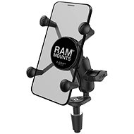 RAM Mounts X-Grips uchycením do krku řízení motocyklu - Držák na mobilní telefon