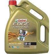 CASTROL EDGE Turbo Diesel 5W-40 TITANIUM FST 5l - Motorový olej