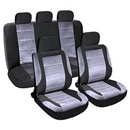 Seat covers set 9pcs DELUXE suitable for side airbag - Car Seat Covers