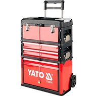 Yatom tool trolley 3 sections, 2 drawers - Toolbox