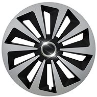 "COMPASS FOX RING SILVER/BLACK 14"" - Wheel Covers"