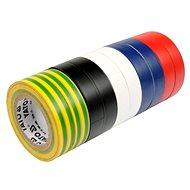 YATO Páska izolační 19 x 0,13 mm x 20 m barevná 10 ks - Páska