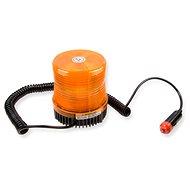 Maják oranžový 24V xenon, magnetický - Maják