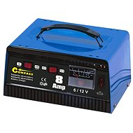 COMPASS Charger 8A 6 / 12V TÜV / GS METALLIC - Battery Charger