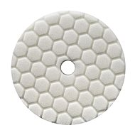 Chemical Guys Hex-Logic Quantum Light-Medium Polishing Pad, White - Kotouč