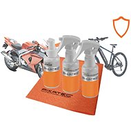 Pikatec Set of Nanocosmetics for Motorcycles andBicycles, Ceramic - Car Cosmetics Set