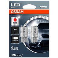 OSRAM LED W21W RED 2ks - LED autožárovka