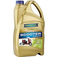 RAVENOL SCOOTER 2-Takt Fullsynth.; 4 L  - Motorový olej