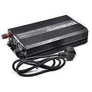 Carspa Měnič napětí UPS600-12 12V/230V 600W s nabíječkou 12V/10A a funkcí UPS - Měnič napětí