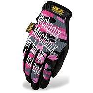 Mechanix The Original Women maskáčový vzor - dámské, velikost L - Pracovní rukavice