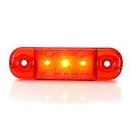 Poziční světlo W97.1 (709) zadní, červené LED - Světlo na vozík