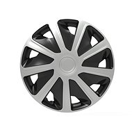 "VERSACO Cover CRAFT 15 ""silver / black - Wheel Covers"
