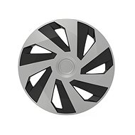 "VERSACO Lid VECTOR 15 ""silver / black - Wheel Covers"