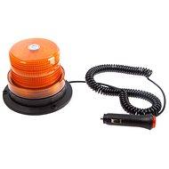 Maják micro oranžový LED magnet - šroub 12/24V  - Maják