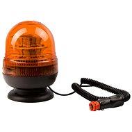 Maják oranžový LED magnet - 12/24V    - Maják
