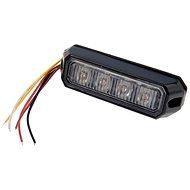 Výstražné světlo 4xLED oranžové 12/24V - zábleskové - Světlo
