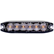 Výstražné světlo oranžové, 6x LED SLIM  - Světlo
