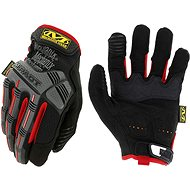 Pracovní rukavice Mechanix M-Pact, černo-červené, velikost: M