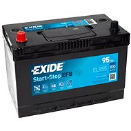 EXIDE START-STOP EFB 95Ah, 12V, EL955 - Autobaterie