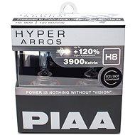 PIAA Hyper Arros 3900K H8 + 120% zvýšený jas, 2ks - Autožárovka