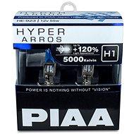 PIAA Hyper Arros 5000K H1 + 120% jasně bílé světlo o teplotě 5000K, 2ks