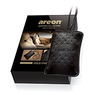 AREON LEATHER COLLECTION - Gold Star - Vůně do auta