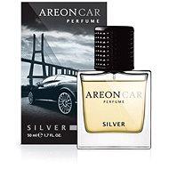 AREON PERFUME GLASS 50ml Silver - Car Air Freshener