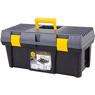 "VOREL 20"" Plastic Tool Box 2 Locks Gray Lid 50cm - Toolbox"