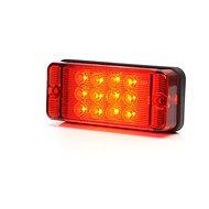 WAS Mlhové světlo W83D červené sklo (700kr) LED        - Světlo na vozík