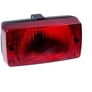 WESEM Mlhové světlo s držákem (LA1.02004) červené WESEM