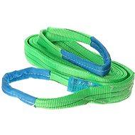 SIXTOL Lifting Sling 2-layered 4m 2t/4t green