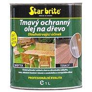 Star brite Tmavý ochranný olej na dřevo 950 ml - Olej
