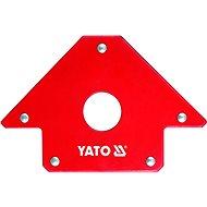 YATO Úhelník magnetický ke svařování 22,5 kg s otvorem - Držák