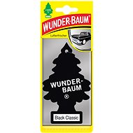 WUNDER-BAUM Black Classic 3pcs - Car Air Freshener