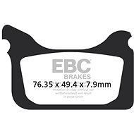 EBC Brzdové destičky MXS405 - Brzdové destičky