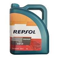 Repsol Premium TECH  5W/40 - 5 L - Motorový olej