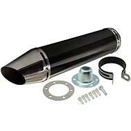 R-Tech Duke Tuned Exhaust, Suzuki DR 125 SM - Exhaust Tail Pipe