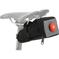 COMPASS Cyklotaška pod sedlo se zadním LED světlem - Brašna