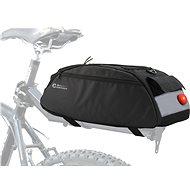 COMPASS Cyklotaška na zadní nosič + zadní LED světlo - Brašna