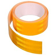 Adhesive tape 1m x 5cm reflective yellow - Printer Ribbon
