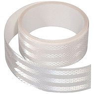 Reflective adhesive tape 1m x 5cm white - Printer Ribbon