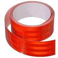 Reflective adhesive tape 1m x 5cm red - Printer Ribbon