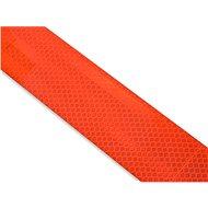 Samolepící páska reflexní-dělená 1m x 5cm červená - Páska