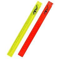Pásek reflexní ROLLER 2ks žlutý + červený - Pásek