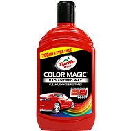 Turtle Wax Colour Wax - Red 300ml + 200ml - Car Wax