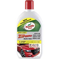 Turtle Wax ZIP WAX Car Shampoo with Wax 500ml + 100% free - Car Wash Soap