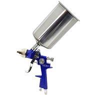 GEKO Stříkací pistole HVLP, kovová nádrž 1000ml - Stříkací pistole