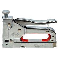 GEKO Staple Gun Chromed 4-14mm, Adjustable Driving Force