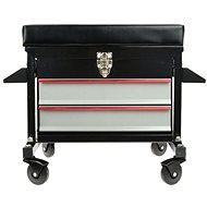 GEKO Workshop Trolley with 2 Drawers - Stool